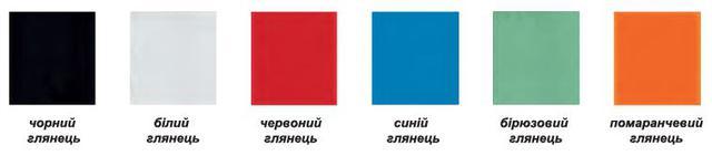 Ц В Е Т О В А Я   Г А М М А   цветного глянцевого стекла для дверей шкафов-купе