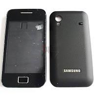 """Корпус """"ААА"""" с клавиатурой Samsung S5830 (черный)"""