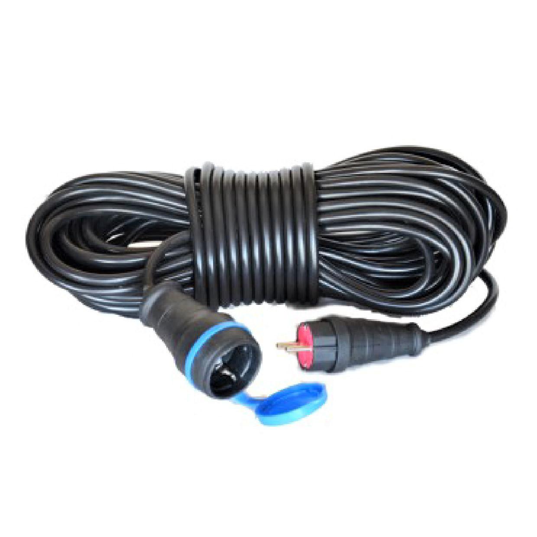 Электрический удлинитель(ГНЕЗДО-Вилка) с з/к 15м (ПВС 3*1,5)ТМ ФЕНИКС