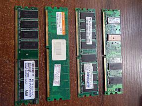 Модуль памяти DDR1 256M, 266Mhz 333Mhz 400Mhz