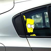 Наклейки на стекло машины