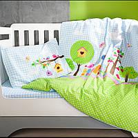 Детское постельное в кроватку Bird Garden (Бёрд Гарден)