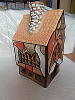 Аромолампа домик керамічна