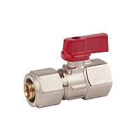 SD FORTE Кран шар. для М/П труб 1/2в х 20   SF264W2015