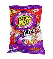 Леденцы Pin Pop Mix пакет 24 шт (Aldor)