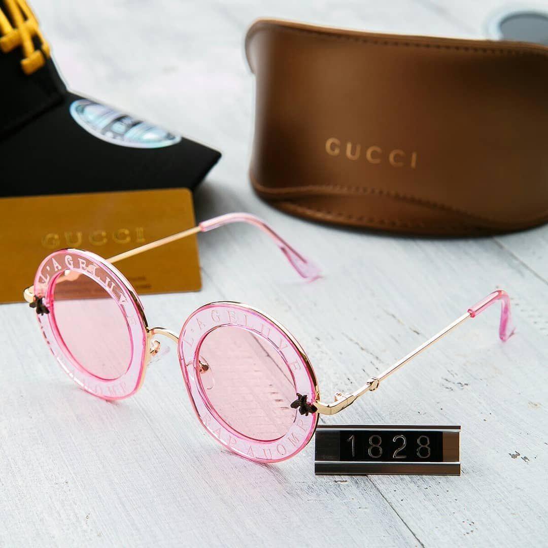 Женские солнцезащитные очки Gucci гуччи круглые розовые - Интернет-магазин  одежды и аксессуаров в Киеве d82c23650aa