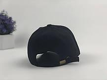Кепка бейсболка Ediko черный с бордовой полосой, фото 2