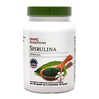 GNC Spirulina 100 caps
