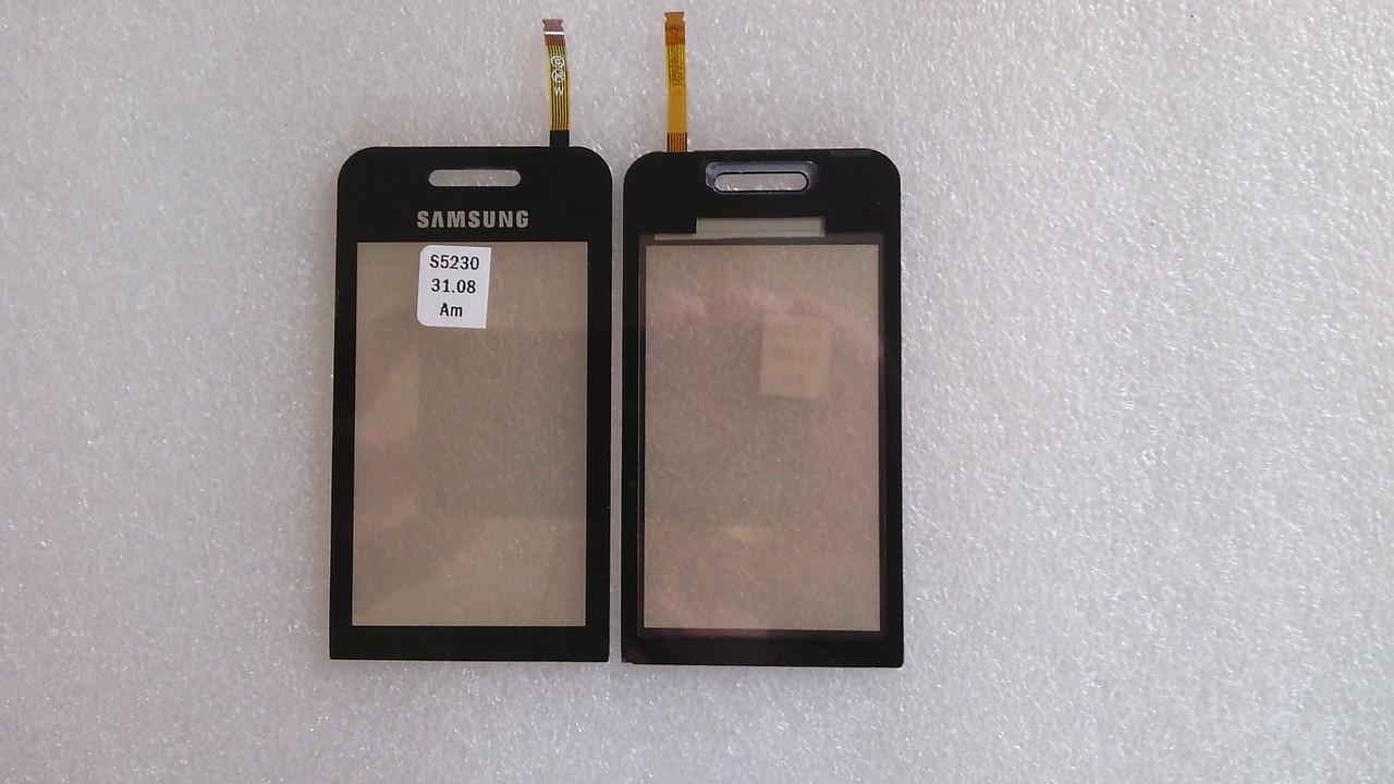 Сенсор Samsung S5230 Star black .s