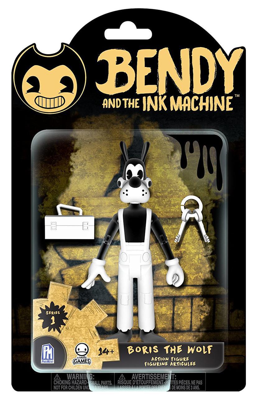 Фигурки Бенди и чернильная машина  Bendy and the Ink Machine Boris the Wolf Action Figure