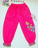Трикотажные штанишки для девочки 7 лет