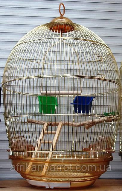 Круглая Клетка для попугая D48*76,5см