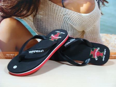 Женские вьетнамки Super Gear (PORTUGAL) черные 39 р.