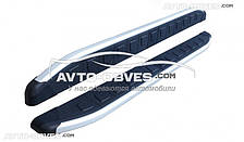 Дуги боковые для Тойота Раф4 2010-2012 (стиль Порш Каен)