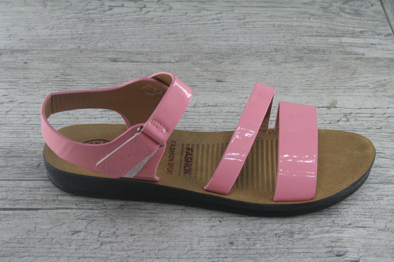 Босоножки, сандалии женские из эко лака Princess ,обувь летняя, открытая, повседневная