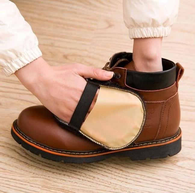 Шерстяная щетка для полировки и чистки обуви