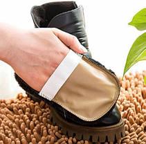 Шерстяная щетка для полировки и чистки обуви, фото 2