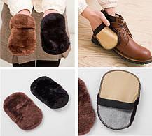 Шерстяная щетка для полировки и чистки обуви, фото 3