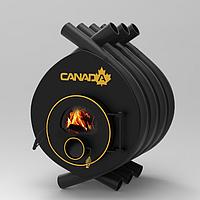 Булерьян «Canada» classic «01» со стеклом печь