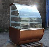 Кондитерська вітрина 1 м. IGLOO WCHC JAMAJKA 0,9 W (Польща) бо, фото 1