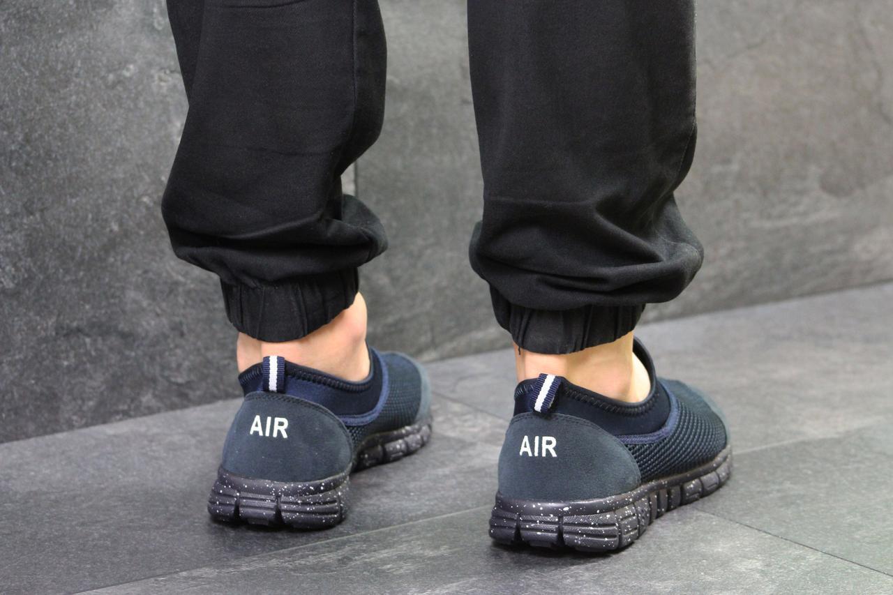 e590e6816935 Летние Мужские Кроссовки Nike Free Run 3, Темно-синие (Реплика) — в ...