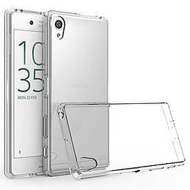 Чехол накладка для Sony Xperia X F5122 силиконовый ультратонкий, Air Case, прозрачный