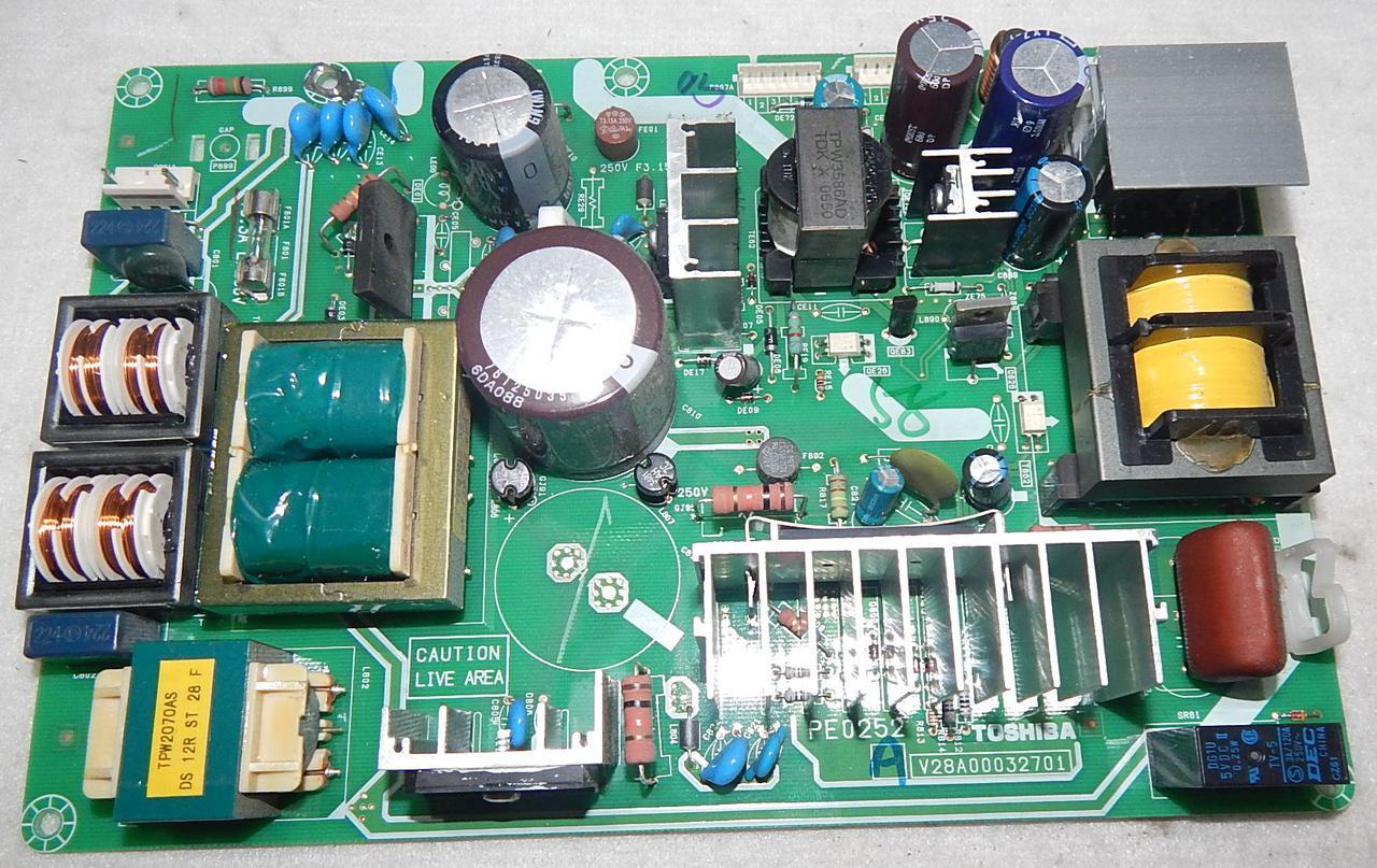 Блок питания V28A00032701 PE0252 к телевизору Toshiba 37C3000P
