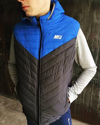 Жилетка мужская Nike. Плащевка, фото 2