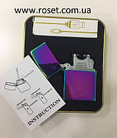 Электроимпульсная USB зажигалка Jinlun 215