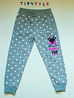 Спортивные брюки для девочки на рост 98 см