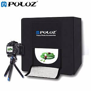 Лайткуб (фотобокс)с Led освещением  Puluz 40x40x40см (PU5040EU)