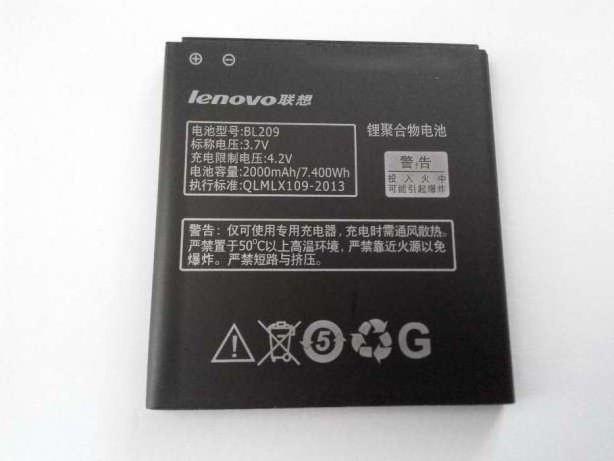 Аккумулятор для Lenovo BL209 2000 mAh Оригинал