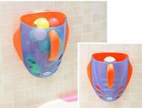 Органайзер для игрушек в ванную комнату babyhood  706