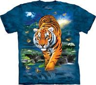 Детская футболка THE MOUNTAIN - 3D TIGER