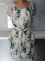 Платье легкое красивое с юбкой клеш