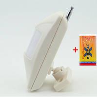 Беспроводной датчик движения GSM сигнализации - 433 мГц + батарейка