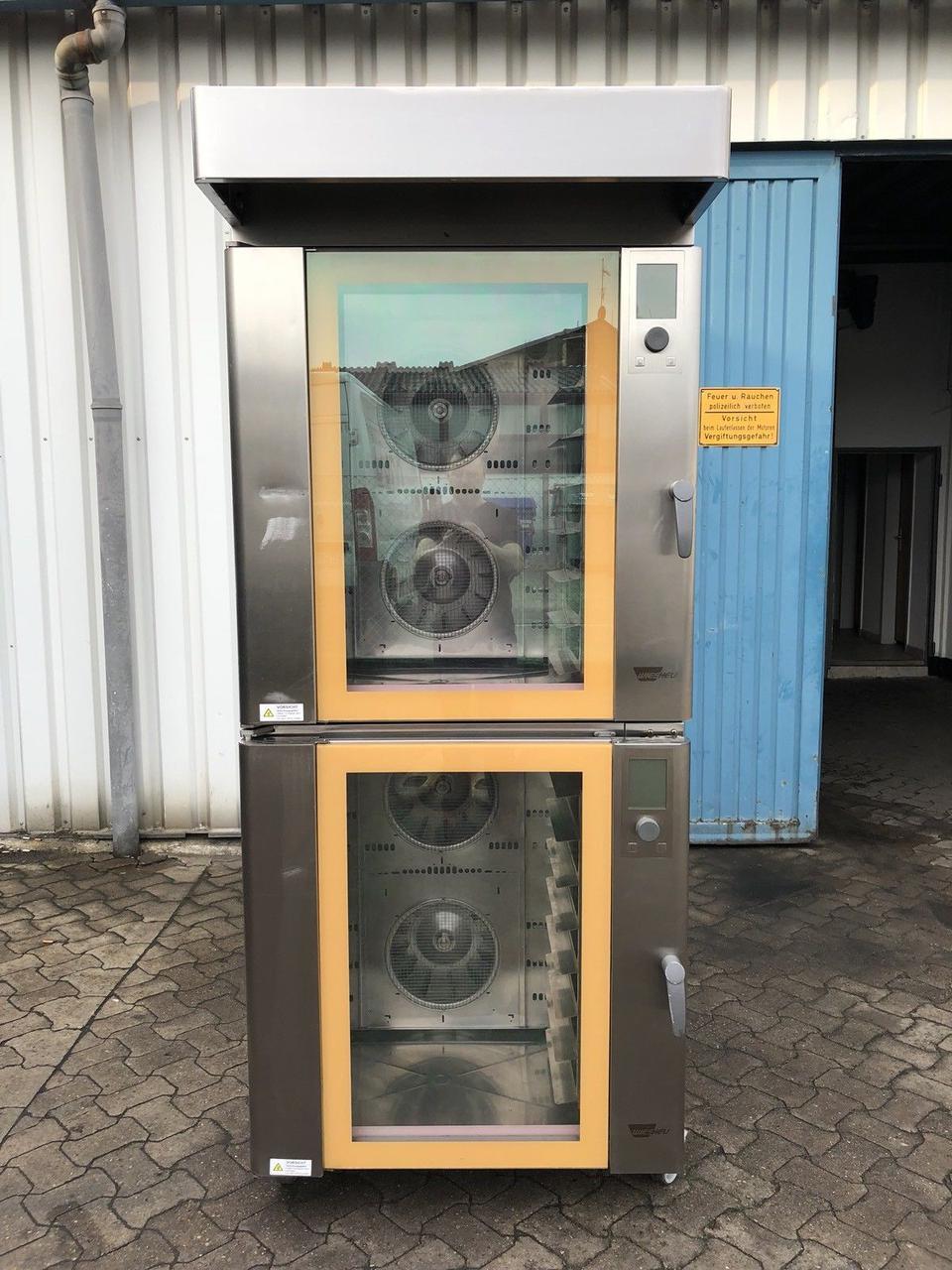 Комплект из двух печей конвекционная печь  Wiesheu B8 IS 600 10+10 противней  (Германия)
