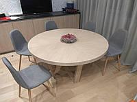 Стол Лотос. Раскладной стол из дерева собственного производства под заказ, фото 1