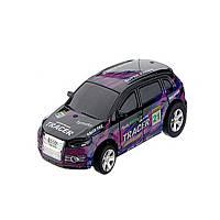 Радиоуправляемая игрушка GLOBAL DRONE Mini Car Машинка на радиоуправлении в банке 1:63 Фиолетовый (SUN0664)
