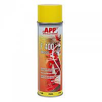 Средство для защиты закрытых профилей APP Profil F400 янтарное, аэрозоль 0,5л  050401