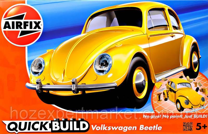 Автомобиль VW Beetle, желтый (Lego сборка)