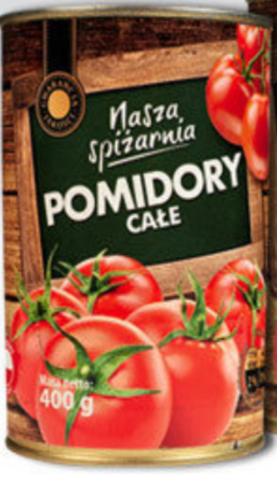 Консервированные помидоры Pomidory krojone 400г