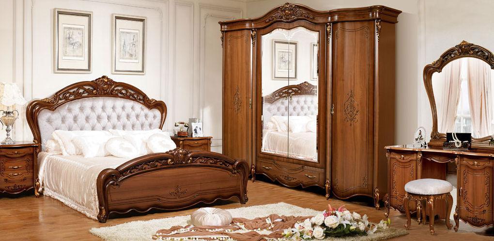 Спальня Дженифер (Орех) (с доставкой)