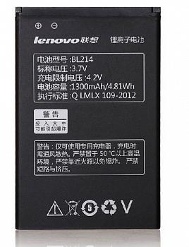 Аккумулятор для Lenovo BL214 1300mAh Оригинал