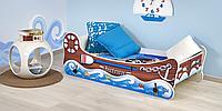Дитяче ліжко Boat з матрацом