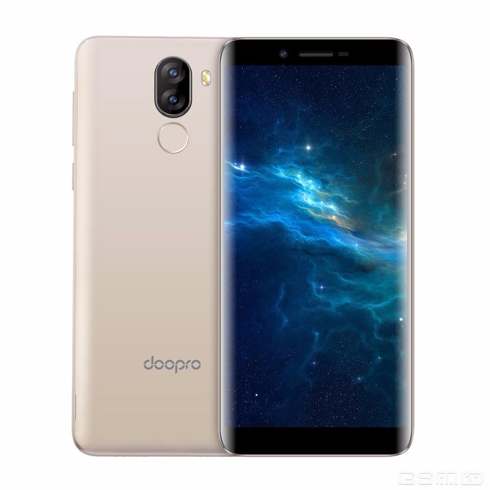 """Смартфон Doogee Doopro P5 PRO 2/16Gb Gold, 5+5/2Мп, 5.5""""  IPS, 3500mAh, 2sim, MT6737, 4 ядра, 4G (LTE)"""