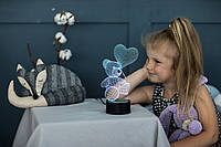 """Детский ночник - светильник """"Мишка с шариком"""" 3DTOYSLAMP, фото 1"""