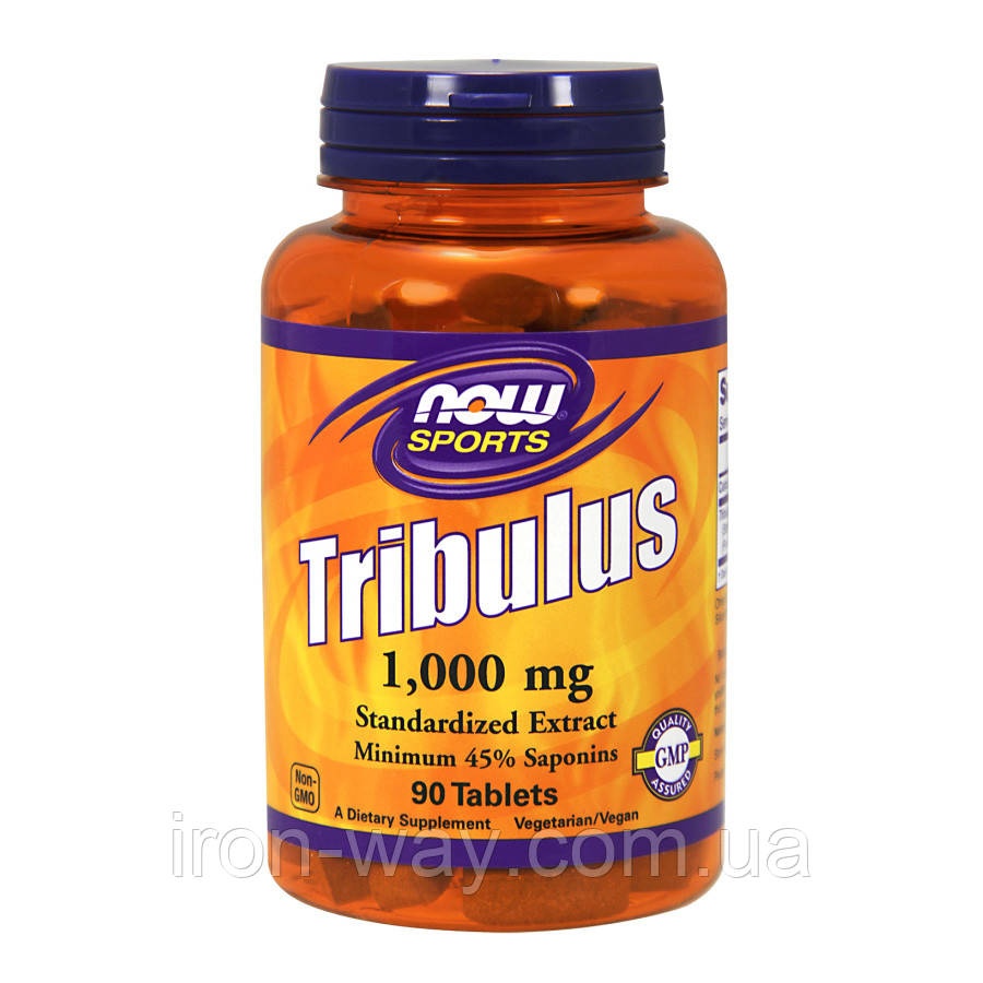 NOW Tribulus 1000 mg 90 tabl