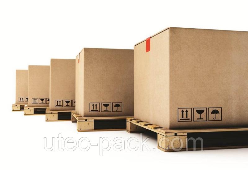 Картонные коробки на транспортный поддон