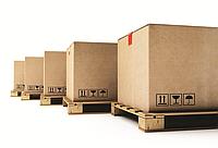 Картонные коробки на транспортный поддон, фото 1